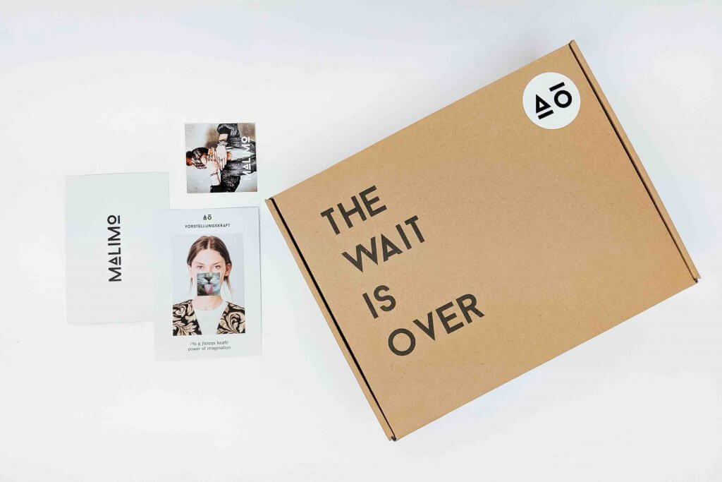 Caja de Malimo para enviar ropa