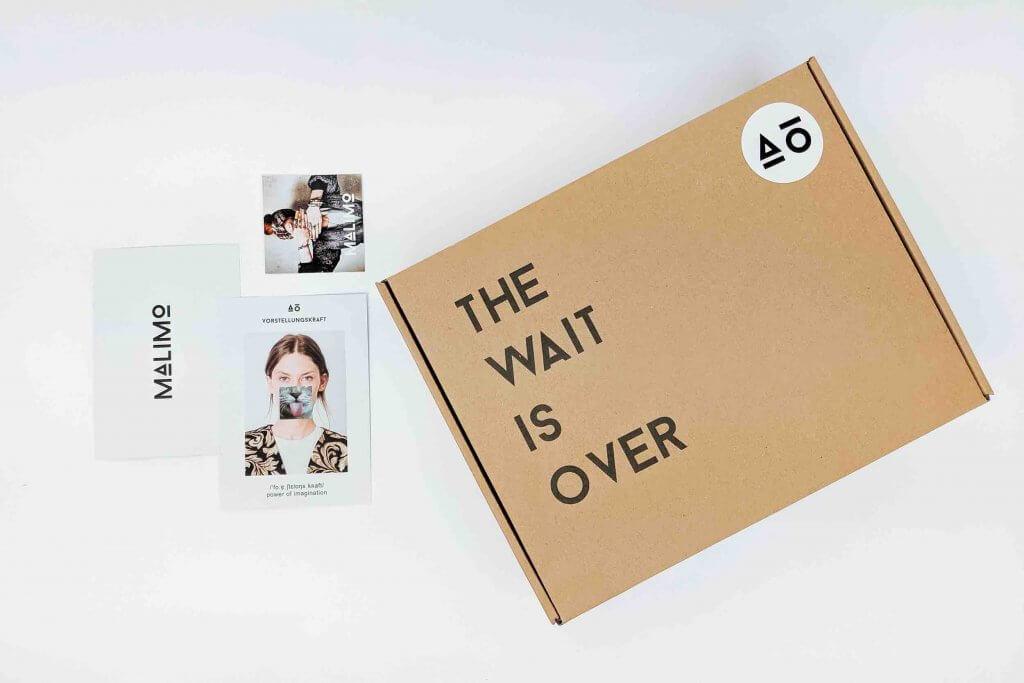 emballage en carton pour l'envoi