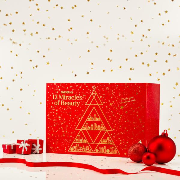 pudełko ze świątecznym motywem