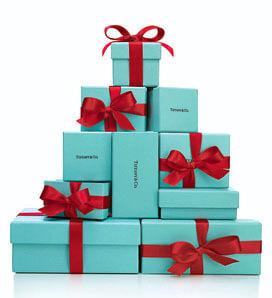 tiffanys signature holiday packaging