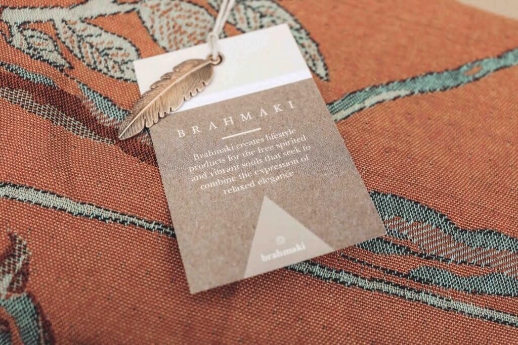 Brahmaki es una marca de ropa ecológica