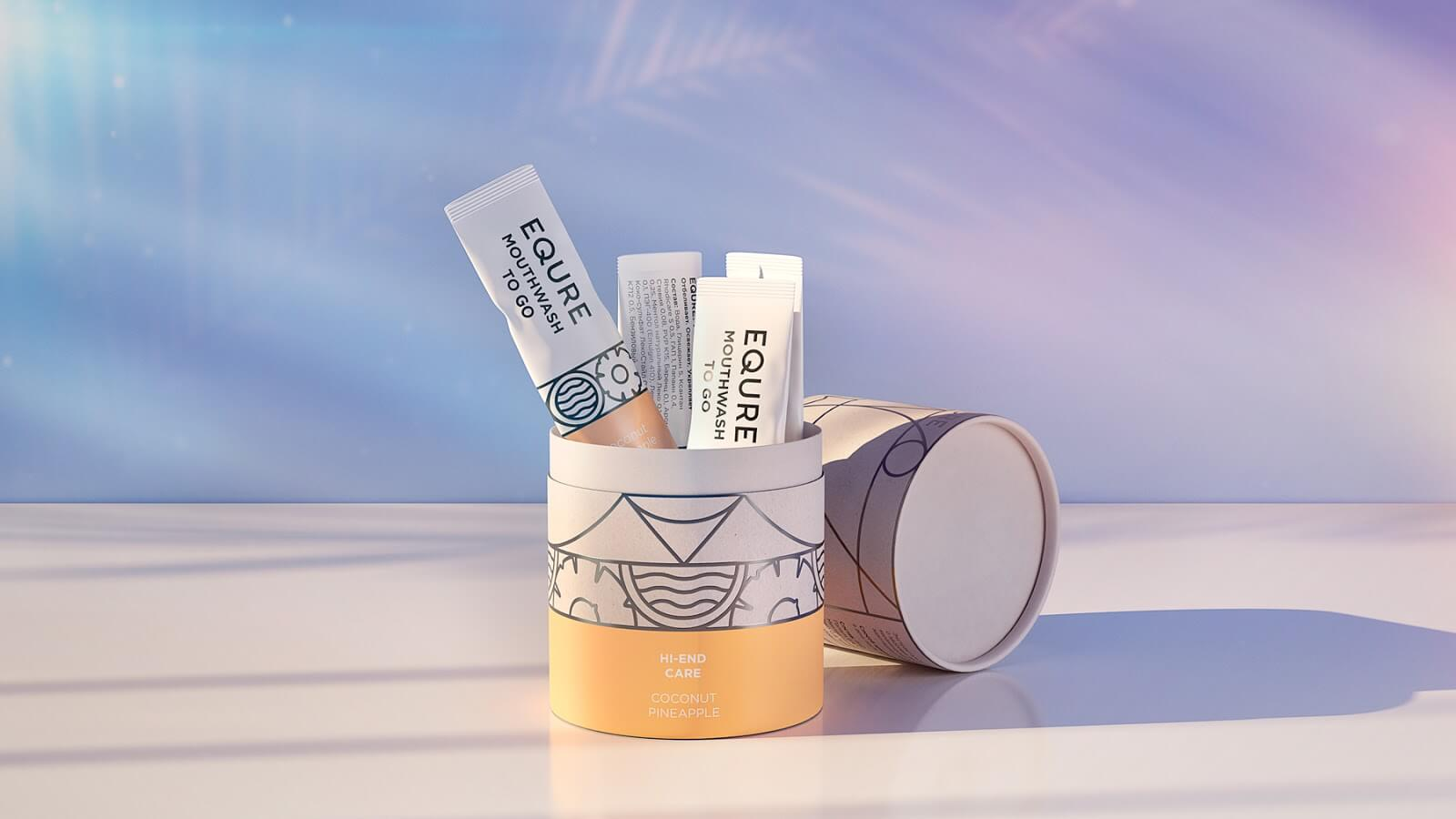 equre tube packaging example