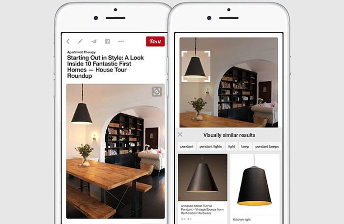 AI for ecommerce pinterest