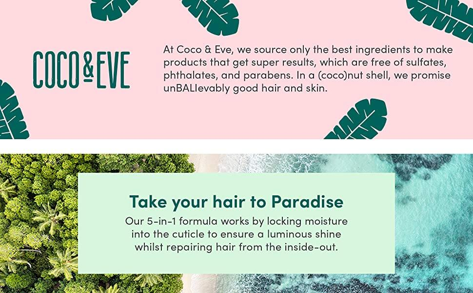 coco and eve hair masque benefits