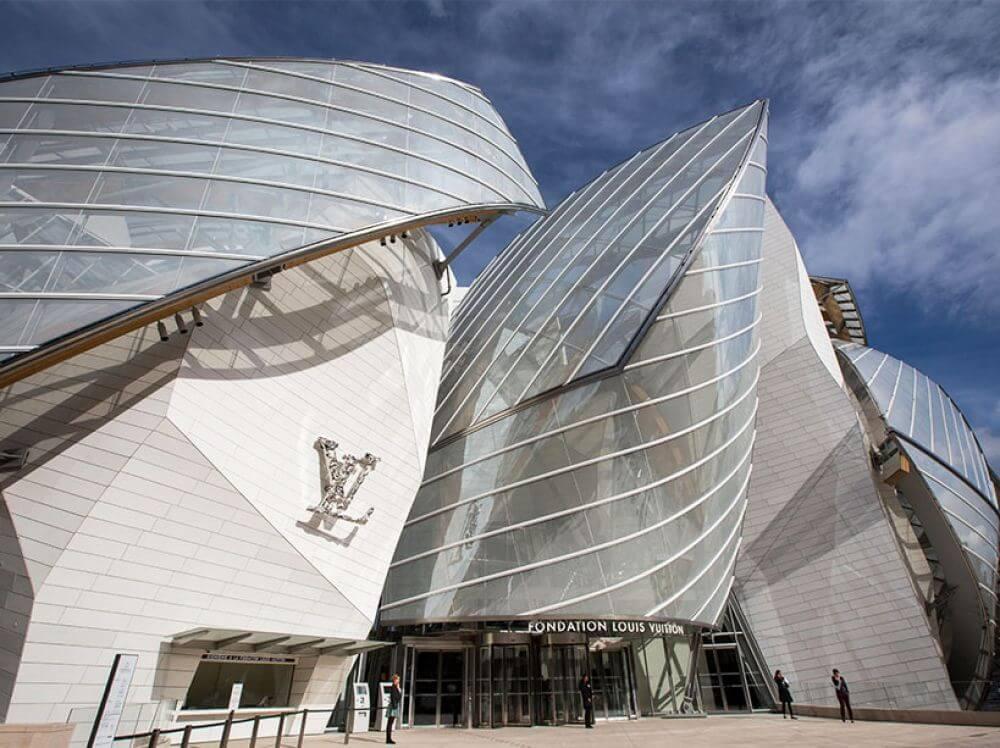 L'architecture de la fondation pour la création Louis Vuitton