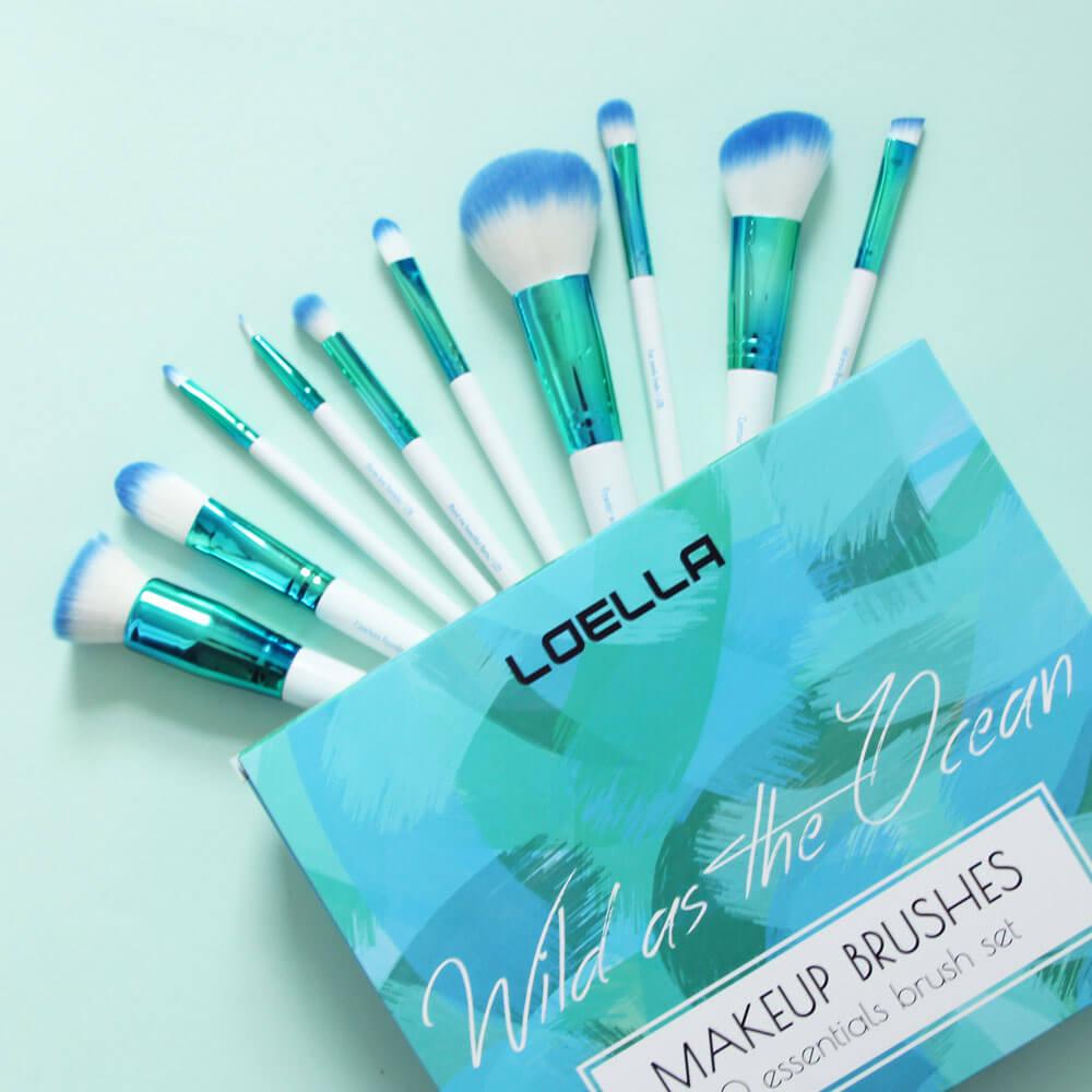Wild as the ocean brush set loella cosmetics