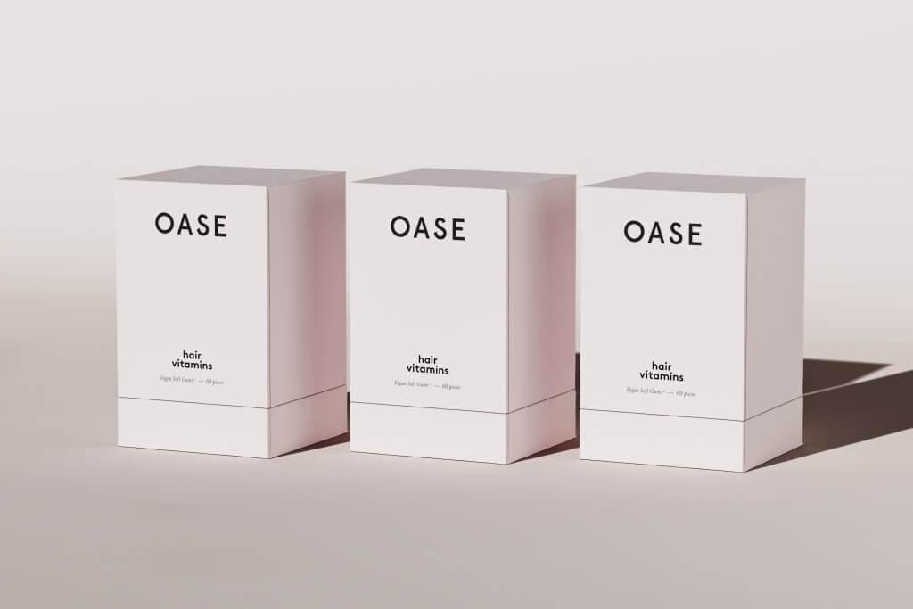 oase pudełka z tektury litej