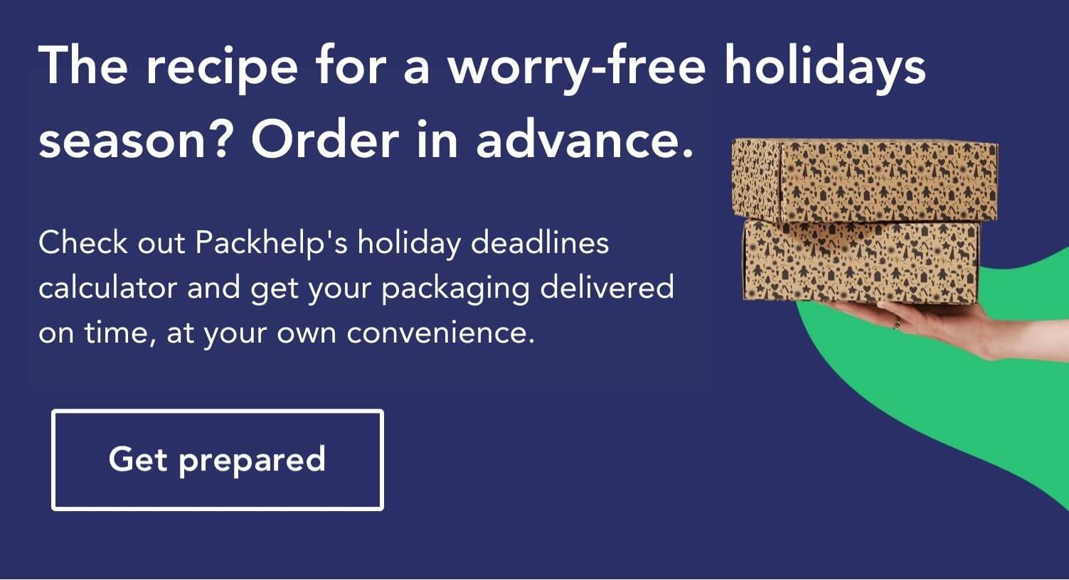 christmas banner packhelp