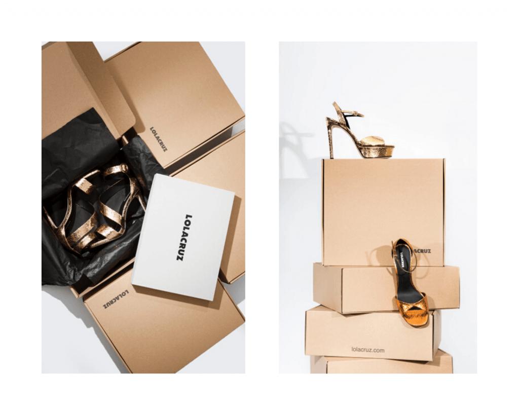pudełka na buty dla lola cruz