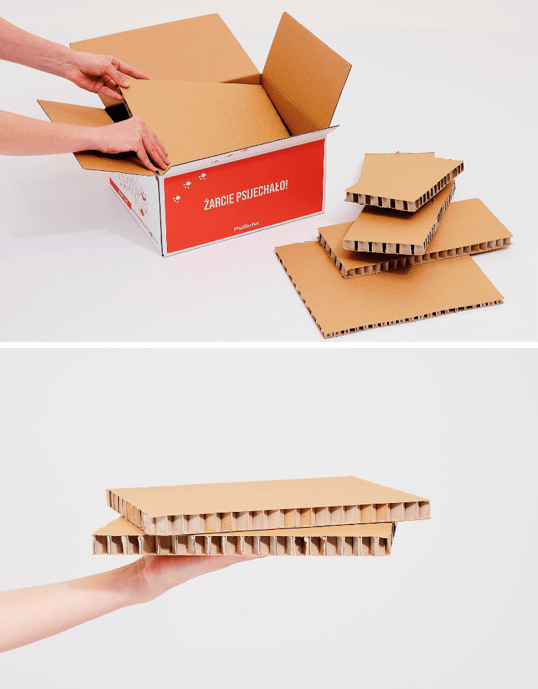 tekturowe pudełko termiczne