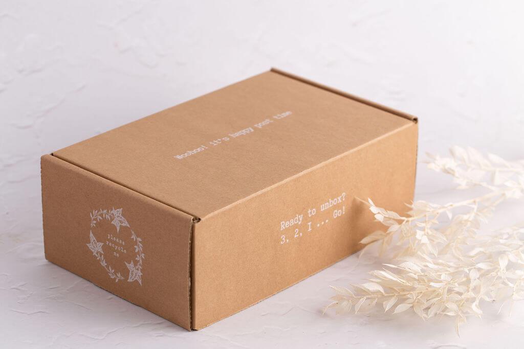 Vegan Bunny caja para e-commerce
