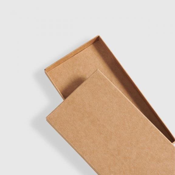 kraft chocolate bar box in two-piece style