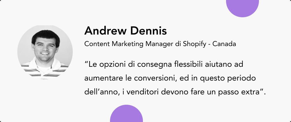 aumentare le vendite - consigli di esperti del settore Andrew Dennis