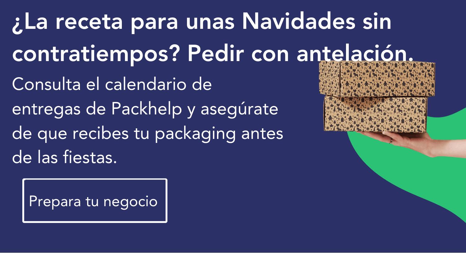 packaging navidad Packhelp