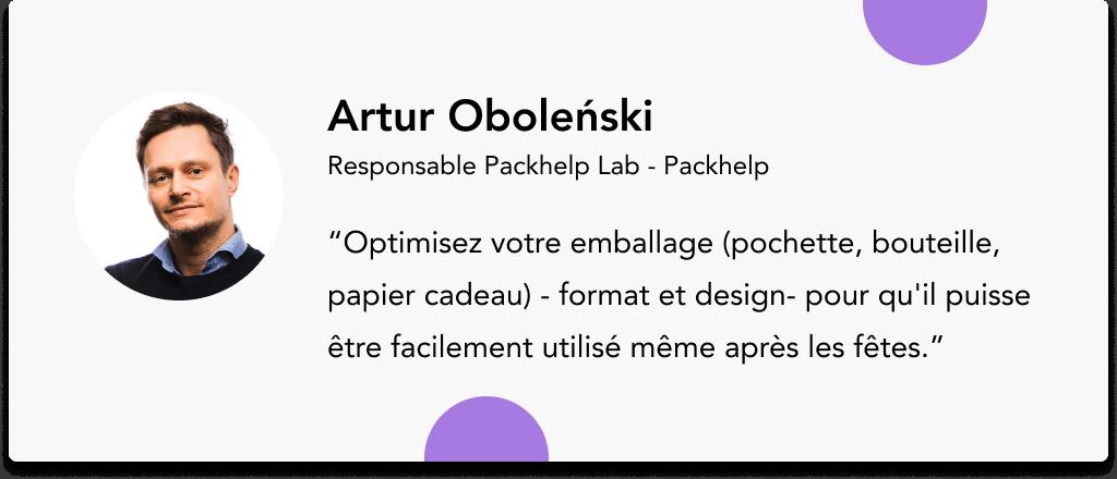 Artur Oboleński Packhelp