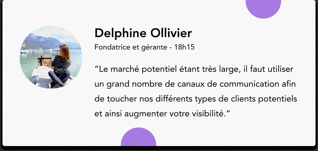 Delphine Ollivier 18h15