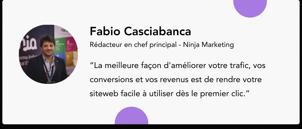 Fabio Casciabanca Ninja Marketing