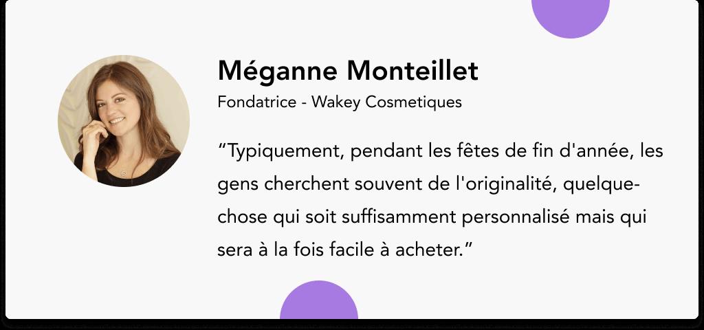 Méganne Monteillet Wakey Cosmétiques