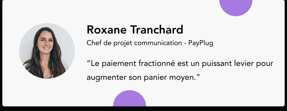 roxane tranchard payplug
