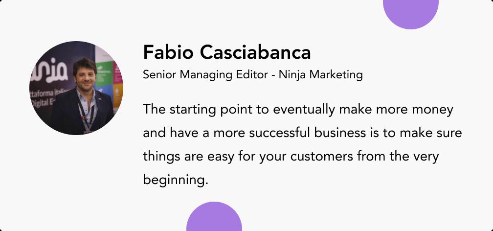 Fabio Casciabanca nanja marketing