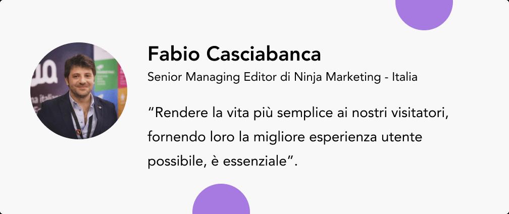 aumentare le vendite consigli esperti Fabio Casciabanca