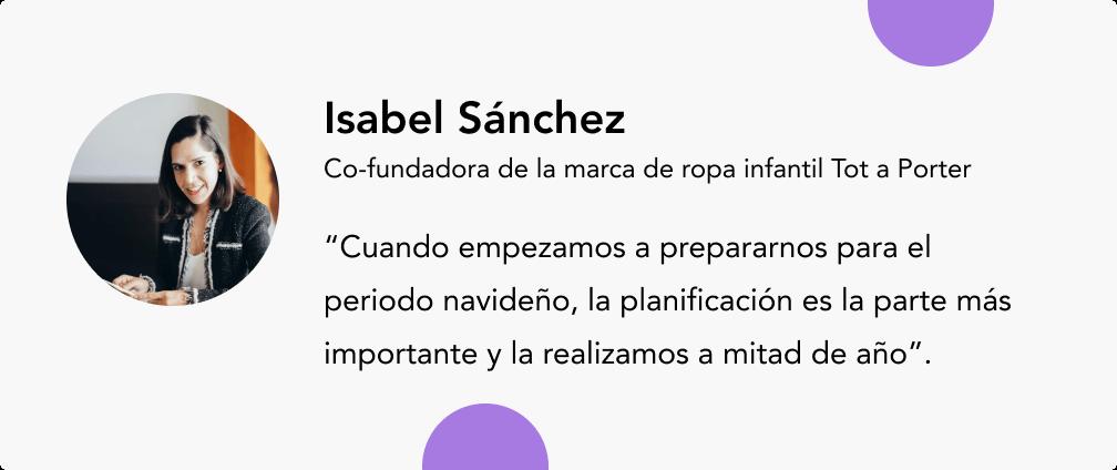 isabel Sanchez expertos en e-commerce