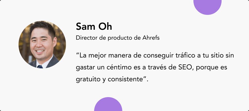 Sam Oh expertos en e-commerce