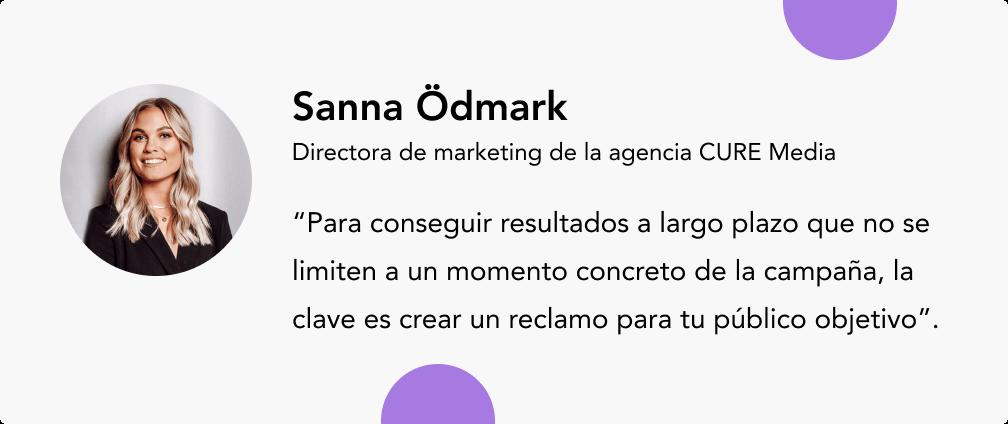 Sanna Odmark expertos en e-commerce
